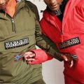 Napapijri Rainfroest Jacket green red