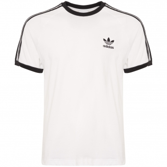 White 3-Stripes Tee