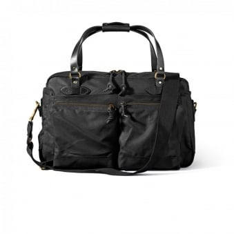 48 Hour Tin Cloth Duffle Bag - Black