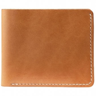 Vegetable-Tanned Bi-Fold Wallet
