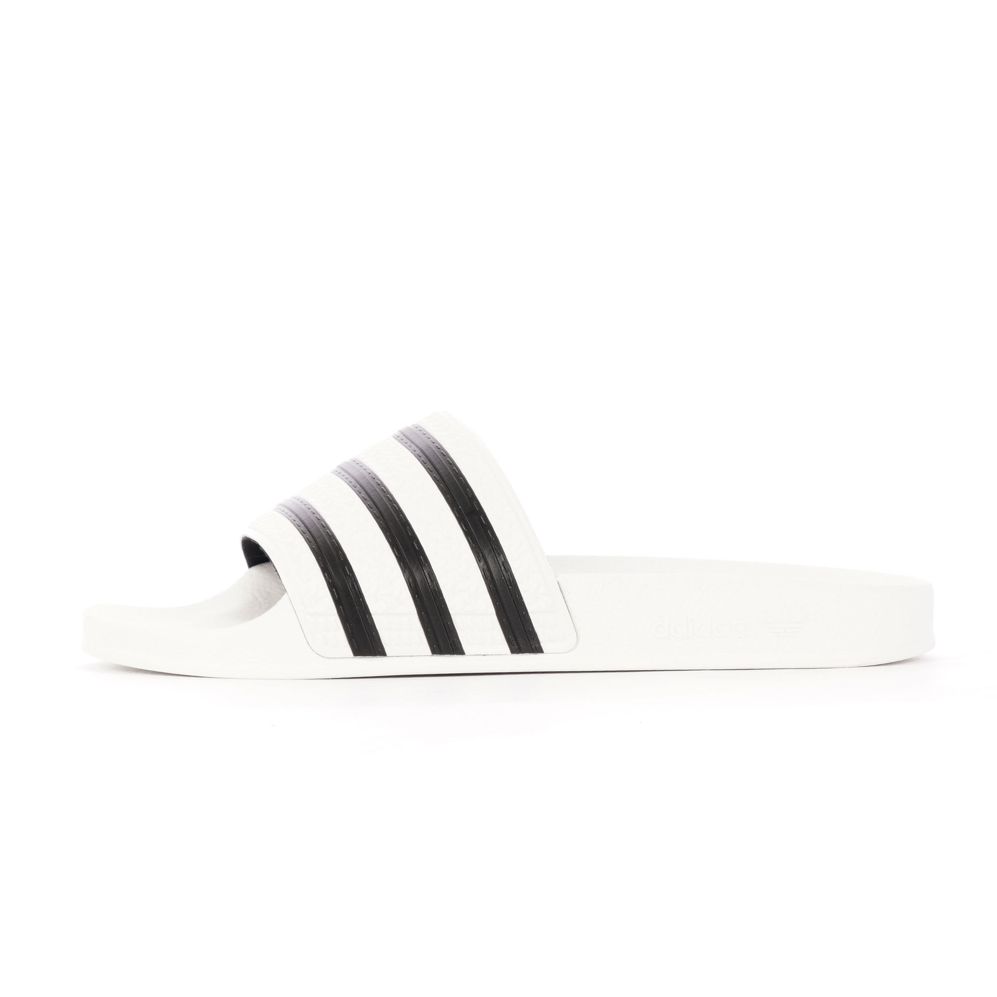 be85ac8a0552 adidas Originals Adilette Slides (White) at Dandy Fellow
