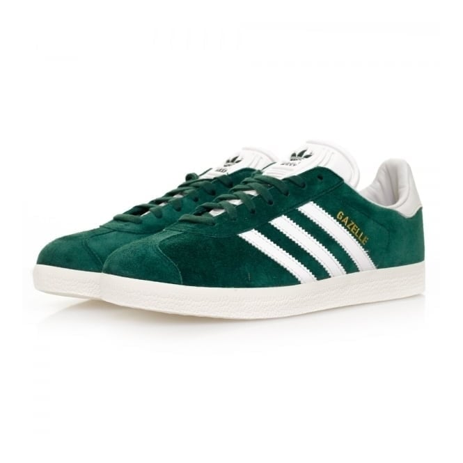 Adidas Originals Gazelle Green Suede Shoes BB5490