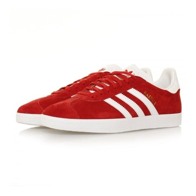 Adidas Originals Adidas Originals Gazelle Scarlet Red Shoes S76228