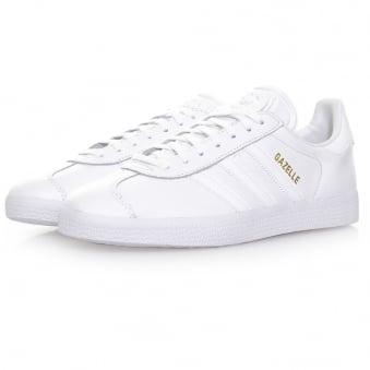 Adidas Originals Gazelle White Leather Shoes BB5498
