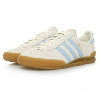 Adidas Originals Jeans White Suede Shoe S79998