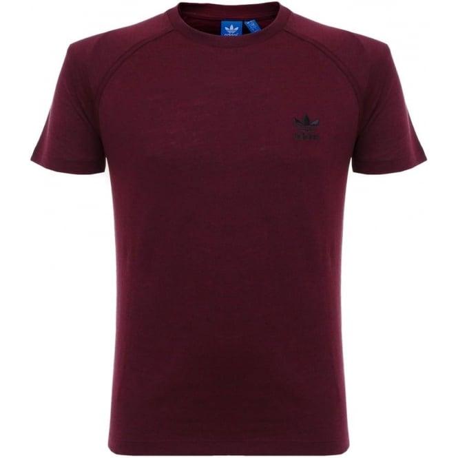 Adidas Originals Adidas Originals PT Maroon T-Shirt AZ1610