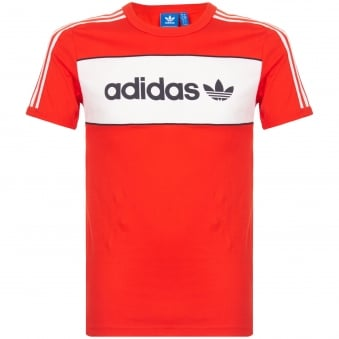 Adidas Originals Red Block T-Shirt BK7783