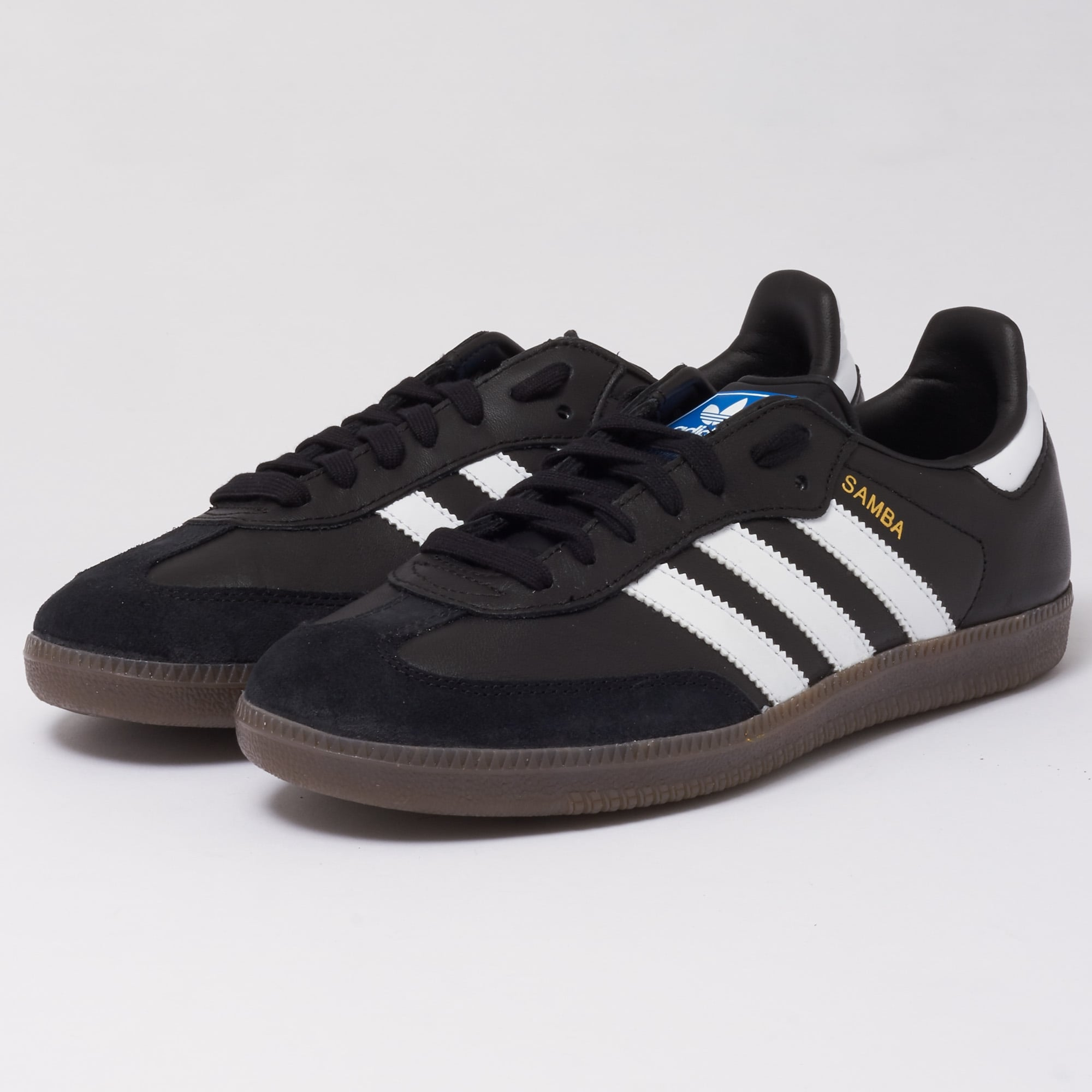 93f708fbaed Adidas Originals Samba OG (Core Black) at Dandy Fellow