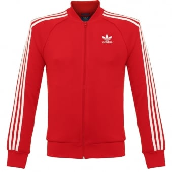 Adidas Originals Superstar Red Track Jacket AY7062