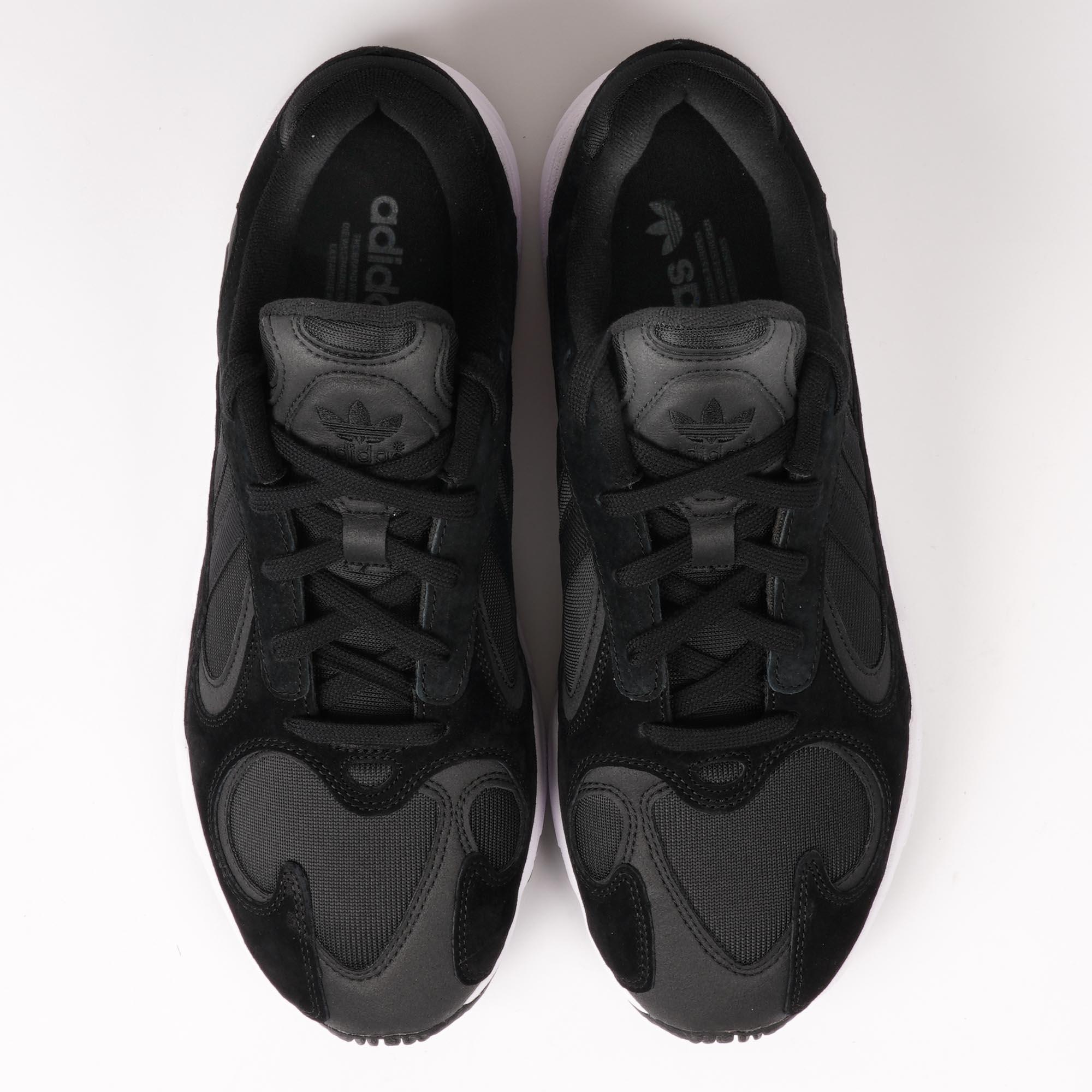 daab4608274ade adidas Originals Womens Falcon (Core Black   FTWR White) at Dandy Fellow
