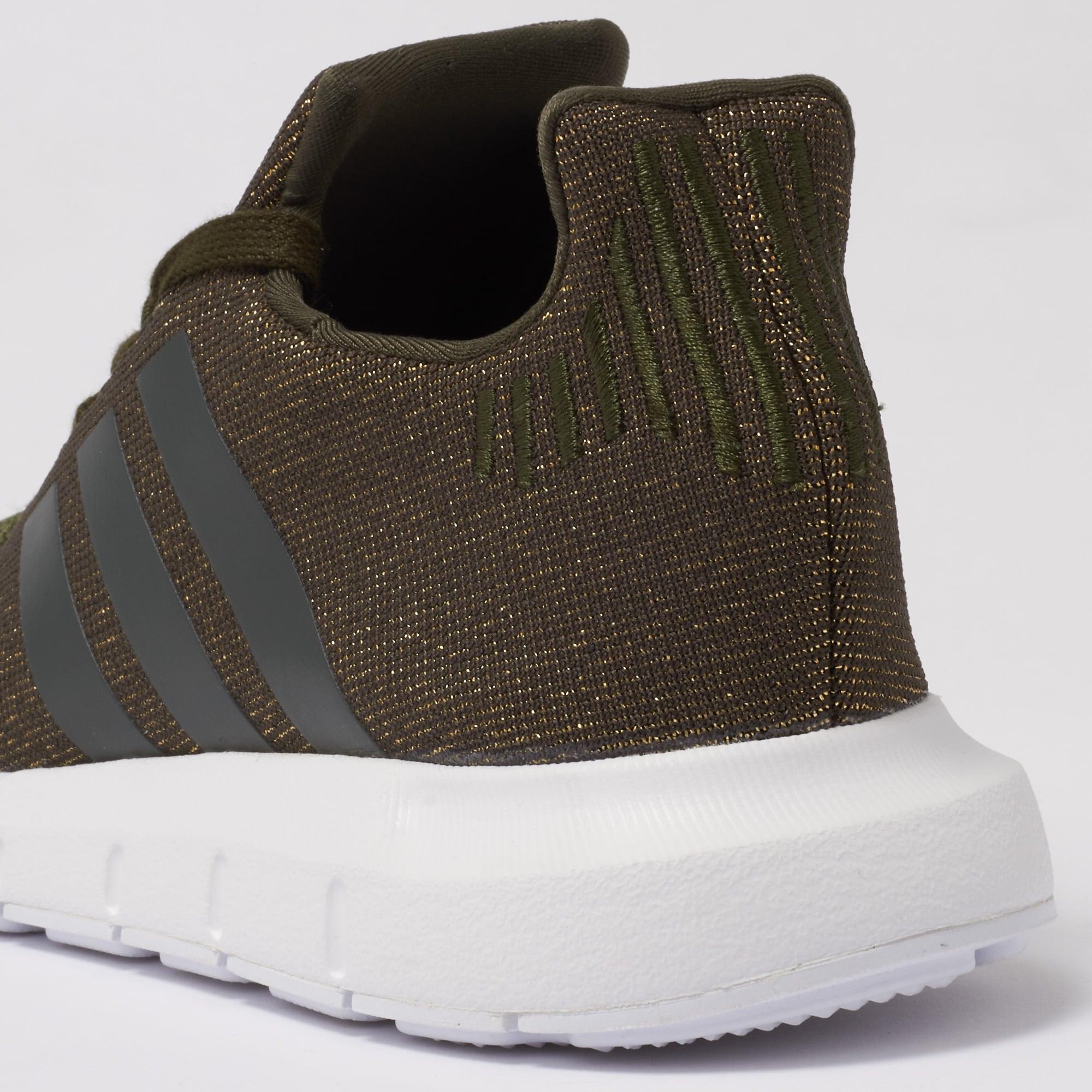 f978ed634f491 Adidas Originals Womens Swift Run Sneakers (Night Cargo) at Dandy Fellow