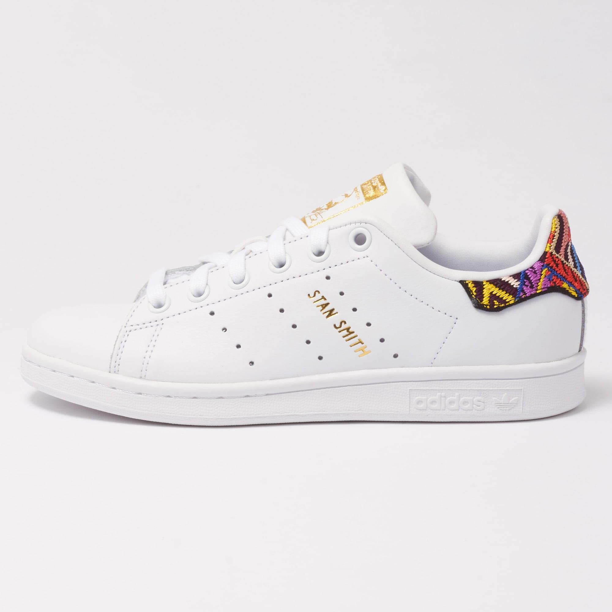 6d7e691a22e Adidas x The FARM Company Stan Smith Sneakers (White) at Dandy Fellow