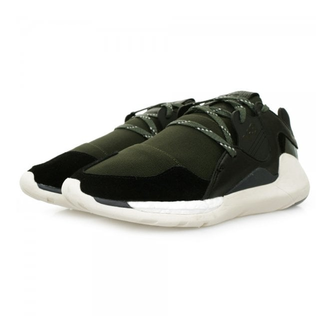Adidas Y-3 Adidas Y-3 Boost QR Green Black Shoes S77939