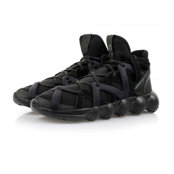 Adidas Y-3 Adidas Y-3 Kyujo High Black Shoes AQ5545
