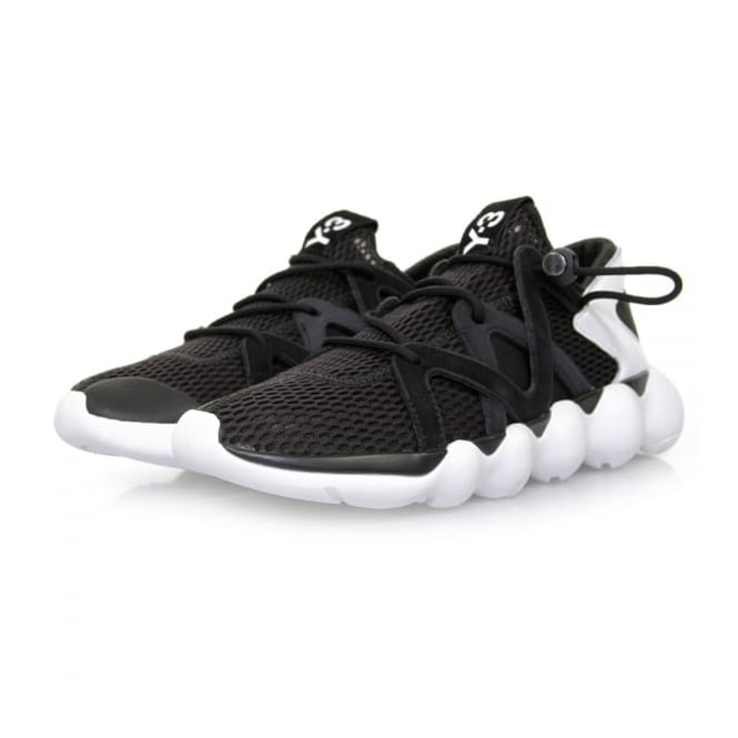 Adidas Y-3 Adidas Y-3 Kyujo Low Black Shoes AQ5547