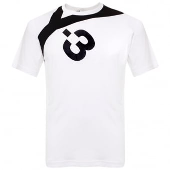 Adidas Y-3 M Logo White T-Shirt AP2399