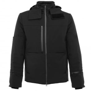 Adidas Y-3 Matte Black Down Jacket AZ4995