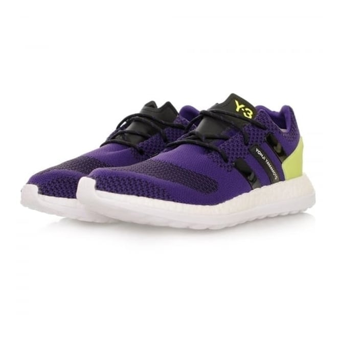 Adidas Y-3 Adidas Y-3 Pure Boost ZG Knit Purple Shoes AQ5730