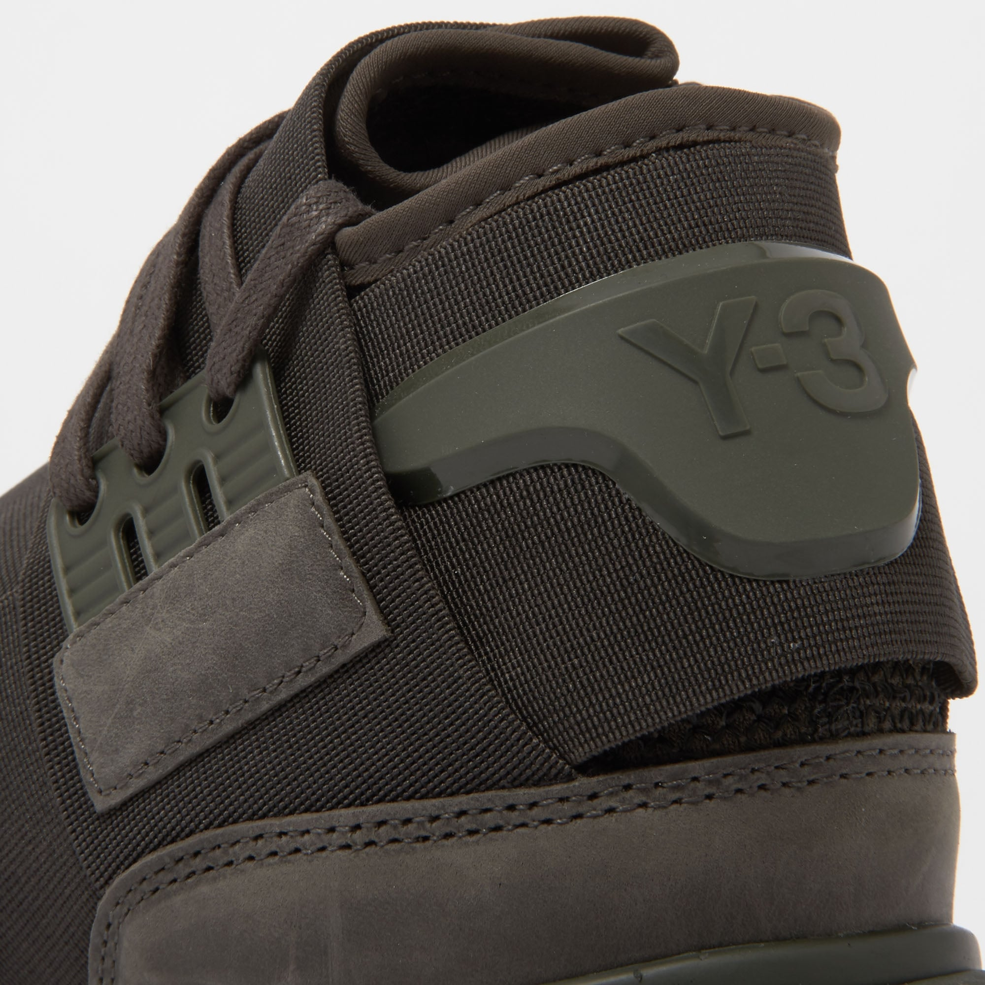 3b35bee688bf Qasa High Black Olive Sneakers CG3194 · Adidas Y-3 ...