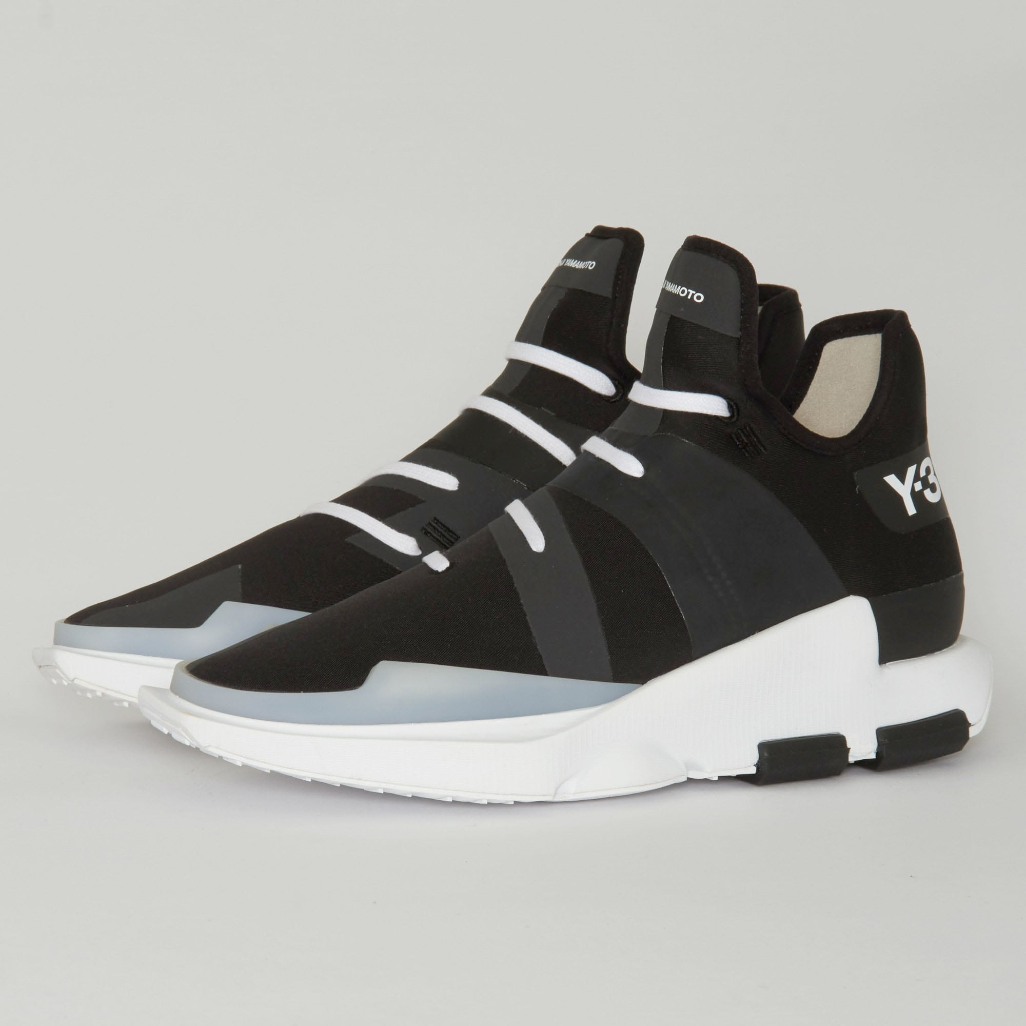 adidas uk shop y 3 noci low black sneakers. Black Bedroom Furniture Sets. Home Design Ideas