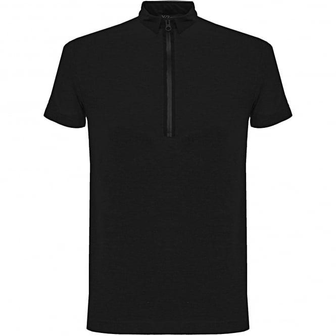 Adidas Y-3 Adidas Y-3 Zip Black Polo Shirt B47574