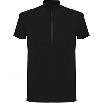 Adidas Y-3 Zip Black Polo Shirt B47574