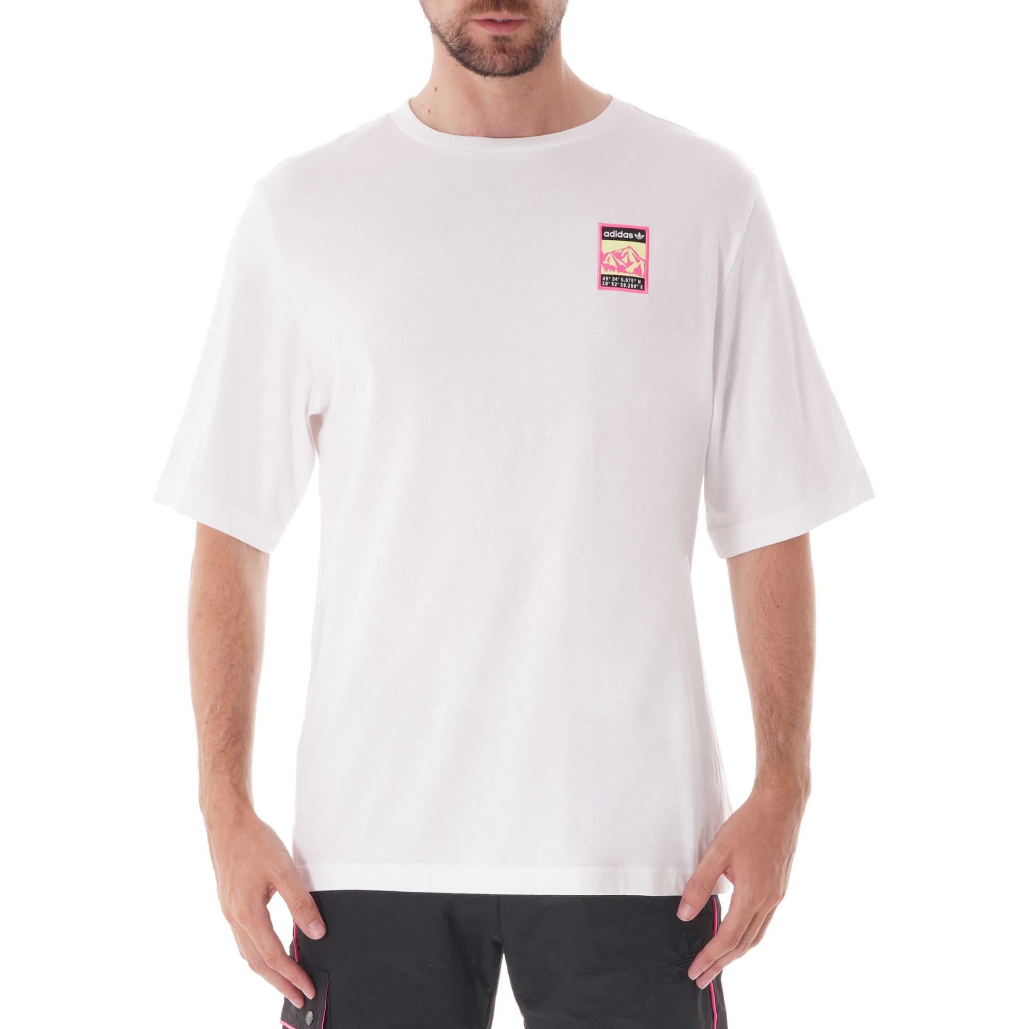 Adiplore Graphic Tee White