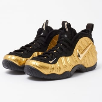 Air Foamposite Pro - Metallic Gold & Black