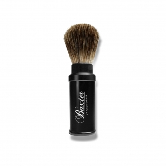 Aluminium Travel Shave Brush