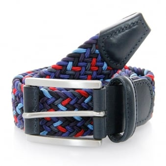 Anderson Belts Woven dark Multi Belt B0667 NE41 057