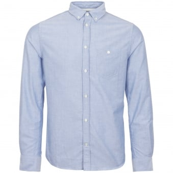 Navy Anton Oxford Shirt