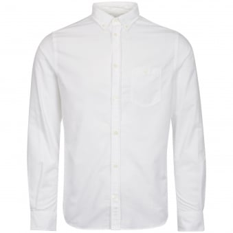 White Anton Oxford Shirt