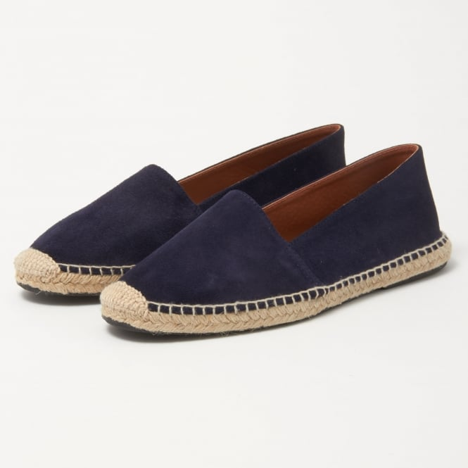 OBIstudio Apolo Blue Split Leather Espadrille