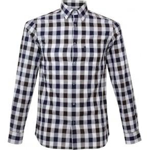 Aquascutum Hoyle Large Scale Check Shirt 021557022