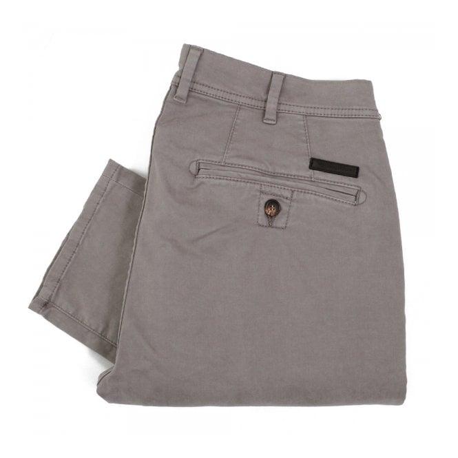Aquascutum Parret Stretch Grey Chino Trousers 021556001