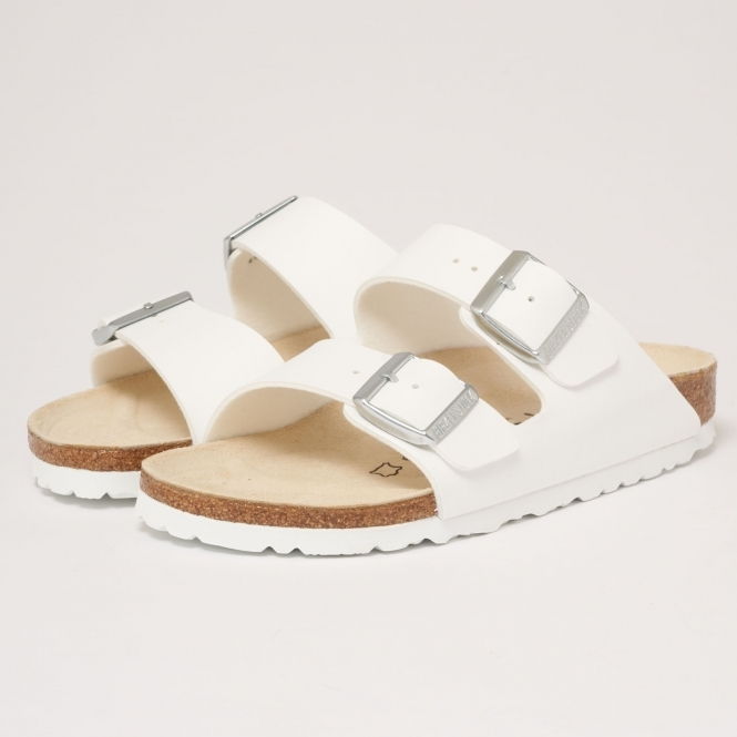 aa7ede7a18a6 Birkenstock Womens Arizona Sandals (White) at Dandy Fellow