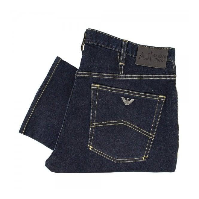 Armani Jeans J06 Fitted Denim Jeans 06J73