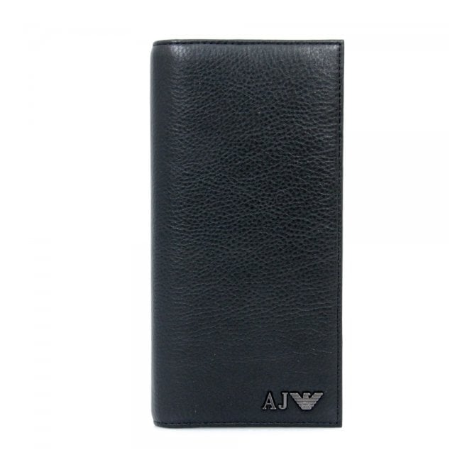 Armani Accessories Armani JEans Yen Black Leather Wallet 06V75