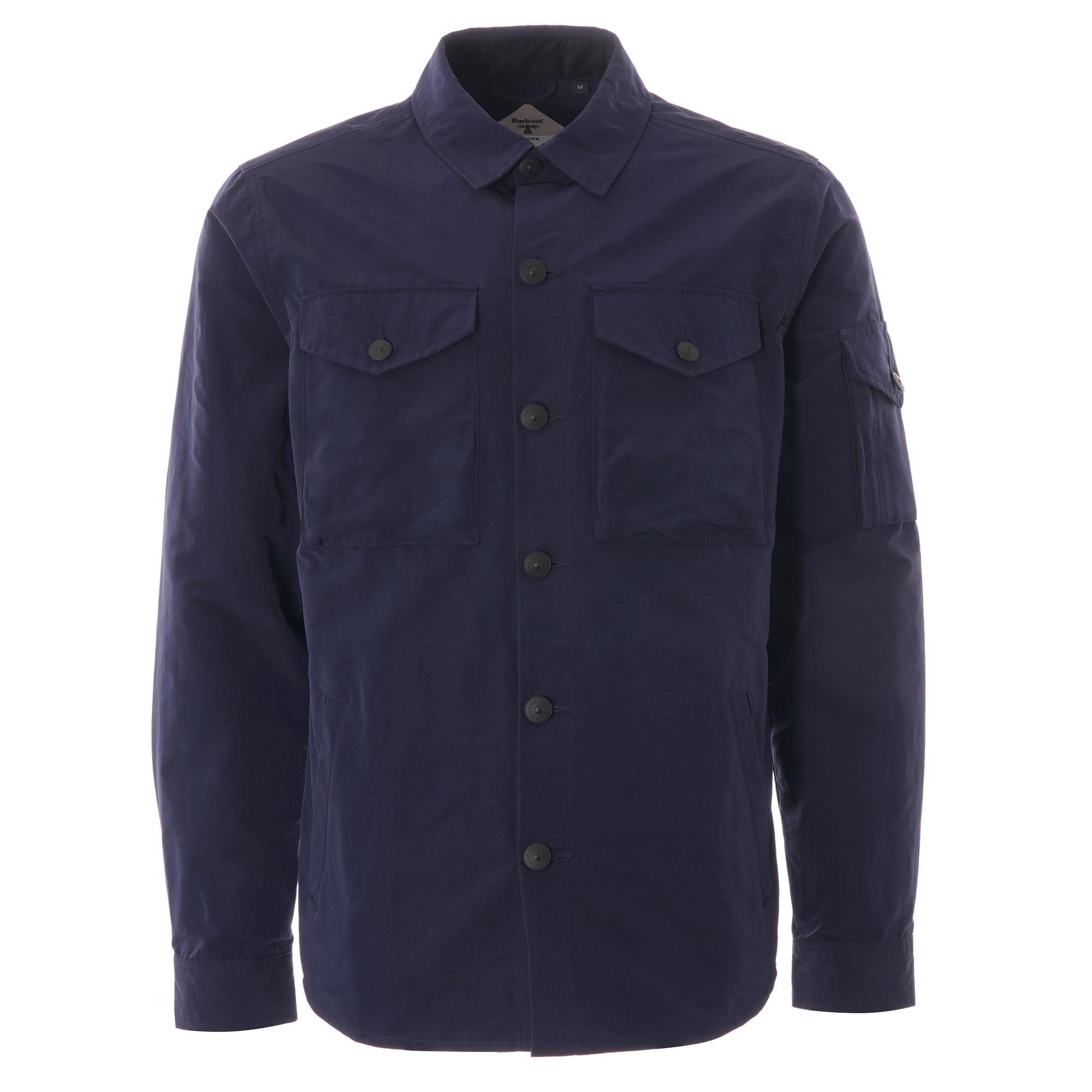 barbour overshirt jacket