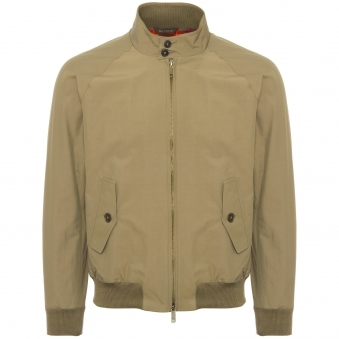 Baracuta G9 Original Harrington Jacket Tan BRCPS0001