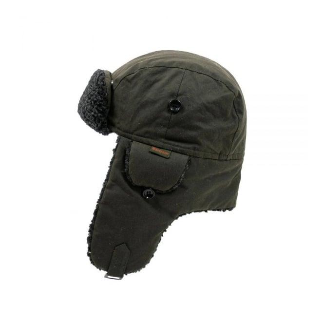 Barbour Accessories Barbour Fleece Lined Hunter Hat Olive 0033OL