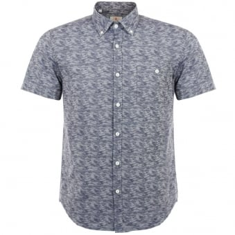 Barbour Heritage Squadron Indigo Shirt MSH338IN32