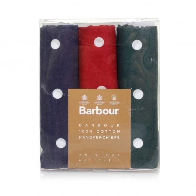 Dandy Fellow Barbour Polka Dot Handkerchiefs MAC0008MI11