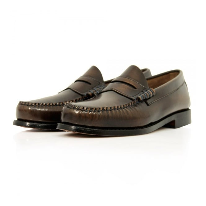Bass Weejuns Bass x William Fox & Sons Larson 2 Brown Shoe 714998
