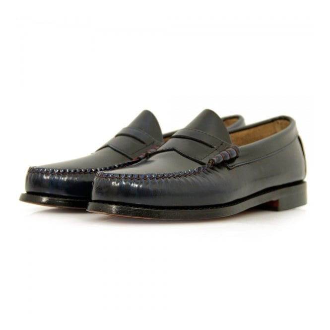 Bass Weejuns Bass x William Fox & Sons Larson 2 Navy Shoes 66847