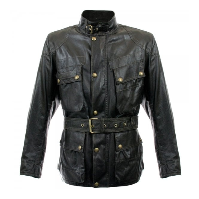 Belstaff Belstaff Sammy Miller Black Waxed Jacket 71050050