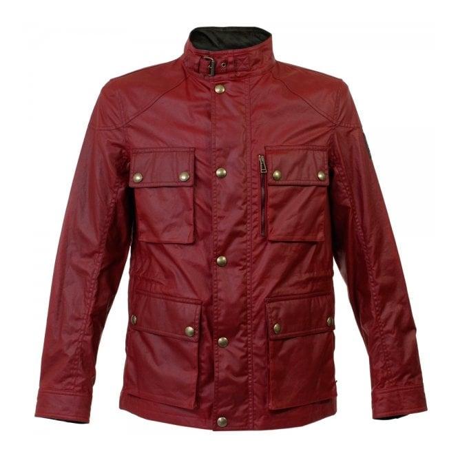 Belstaff Belstaff Trialmaster Racing Red Waxed Jacket 71050