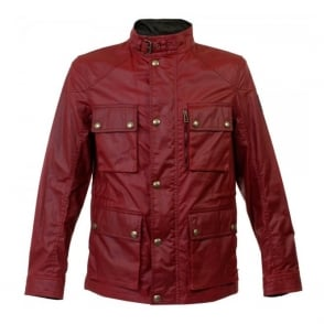Belstaff Trialmaster Racing Red Waxed Jacket 71050