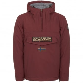 Bordeaux Rainforest Winter Jacket
