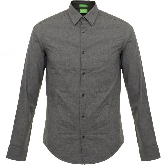 Hugo Boss Green Boss Green Bluriete Medium Grey Shirt 50320154